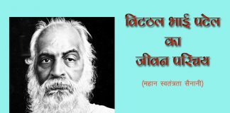 Biography of Vitthal Bhai patel in hindi
