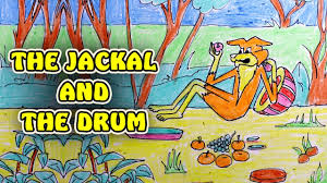 Jackal and Drum story in hindi