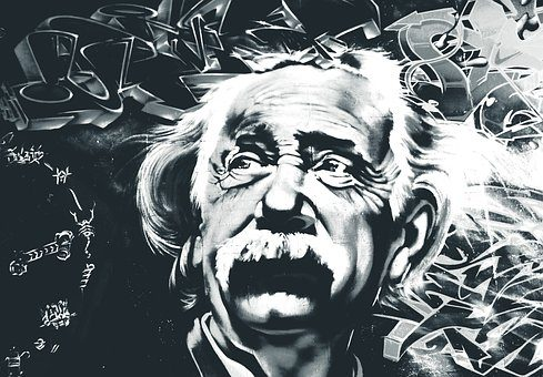 Biography of Albert Einstein  in hindi