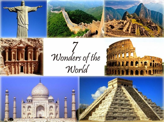 7 Wonder of the world in hindi