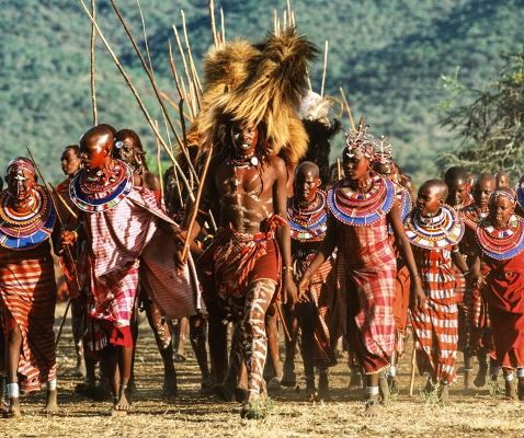 Masai Tribe in Hindi