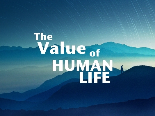 the valu of human life