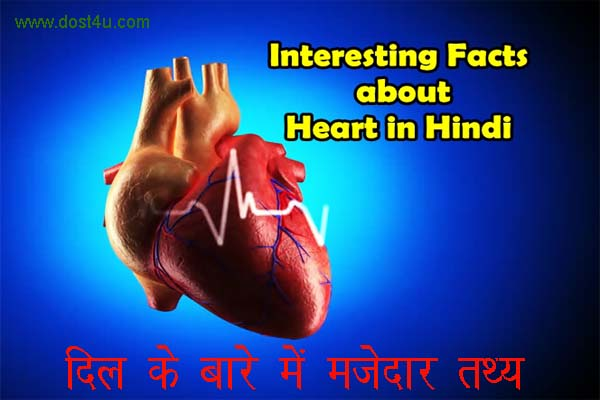 Amazing & Intresting Fact about Heart in hindi